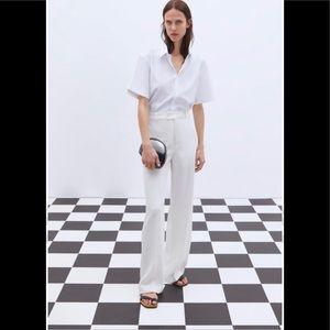 Zara White Trousers